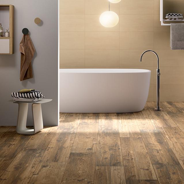 dvero, imitácia dreva, vaňa, kúpelňa, kúpelka, sanita, noce, rovere, chic wood, wood, batéria, saesar, panaria, dakota, larix